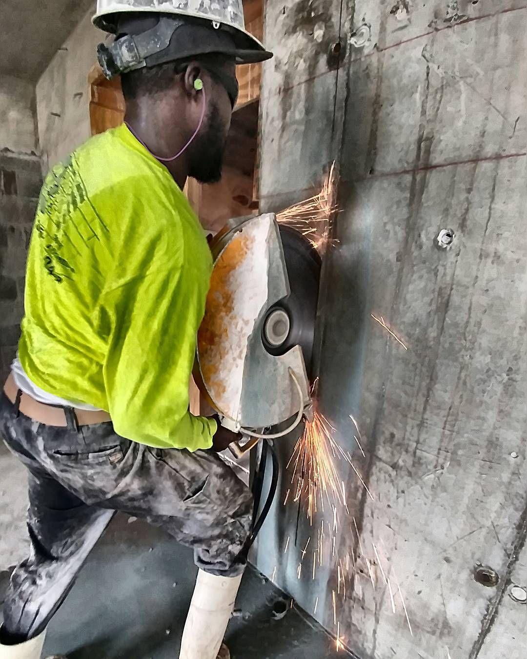 Two More to Go.. #ftlauderdale #constructionsite #concretecutting #concretecuttingmiami #miami #contractor #construction #demolition #concrete #concretelife