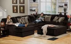Everest 2 Pc Sectional Reverse 1399 The Room Place Warm Living Room Design Jackson Furniture Stylish Living Room