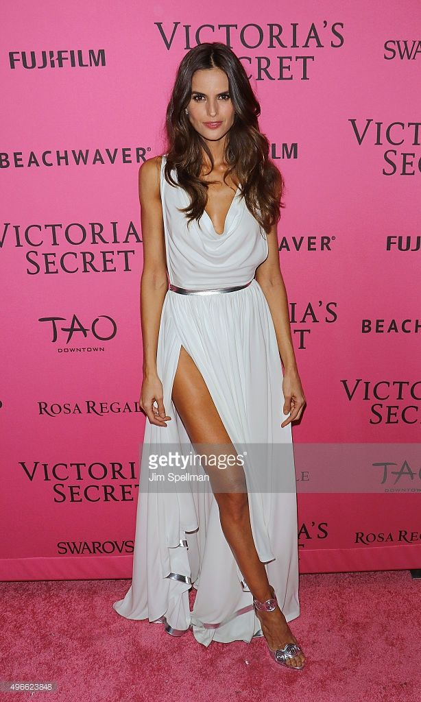 2d7bb251a0 Model Izabel Goulart attends the 2015 Victoria s Secret Fashion Show after  party at TAO Downtown on November 10