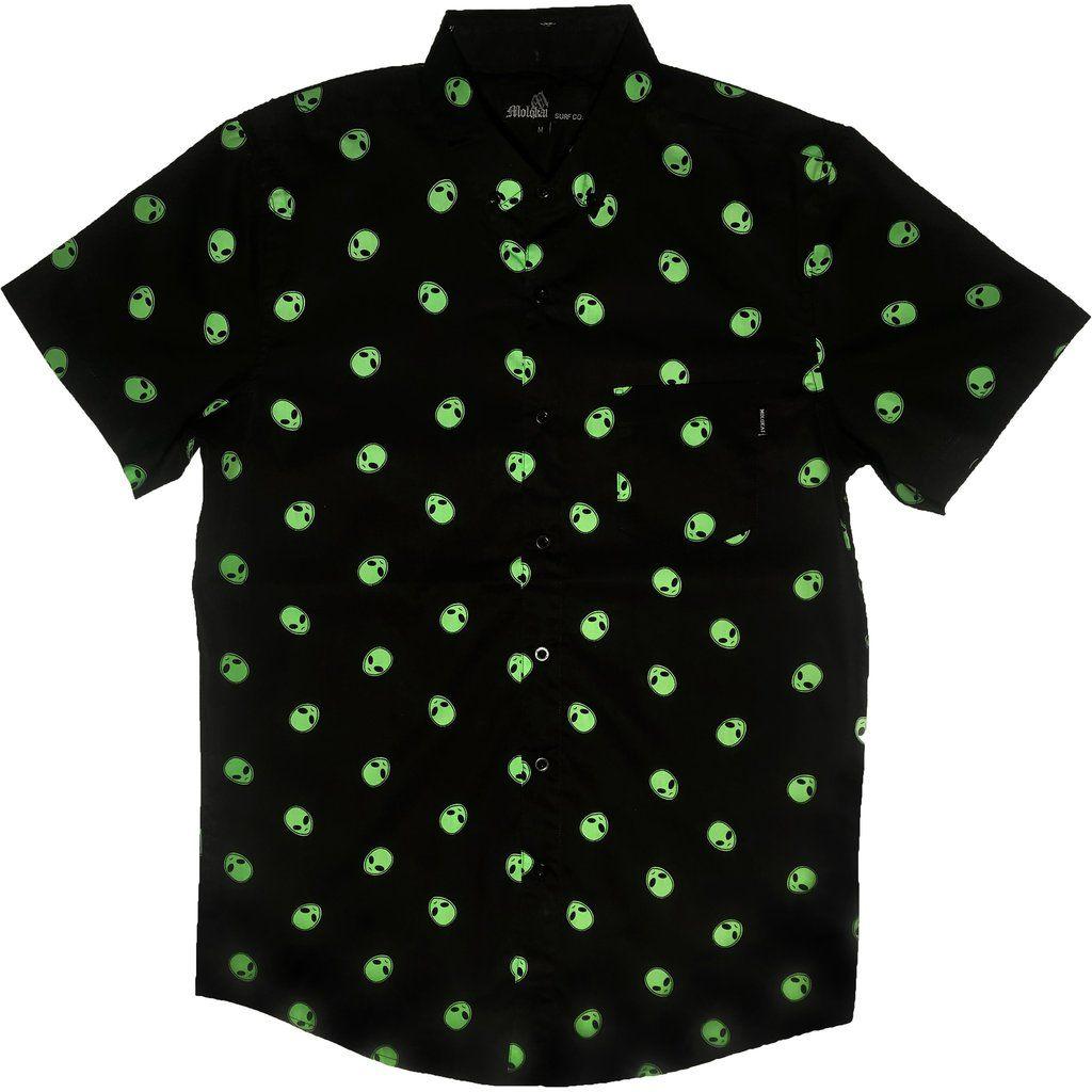 e5259d127ea4 Alien Button Up Shirt