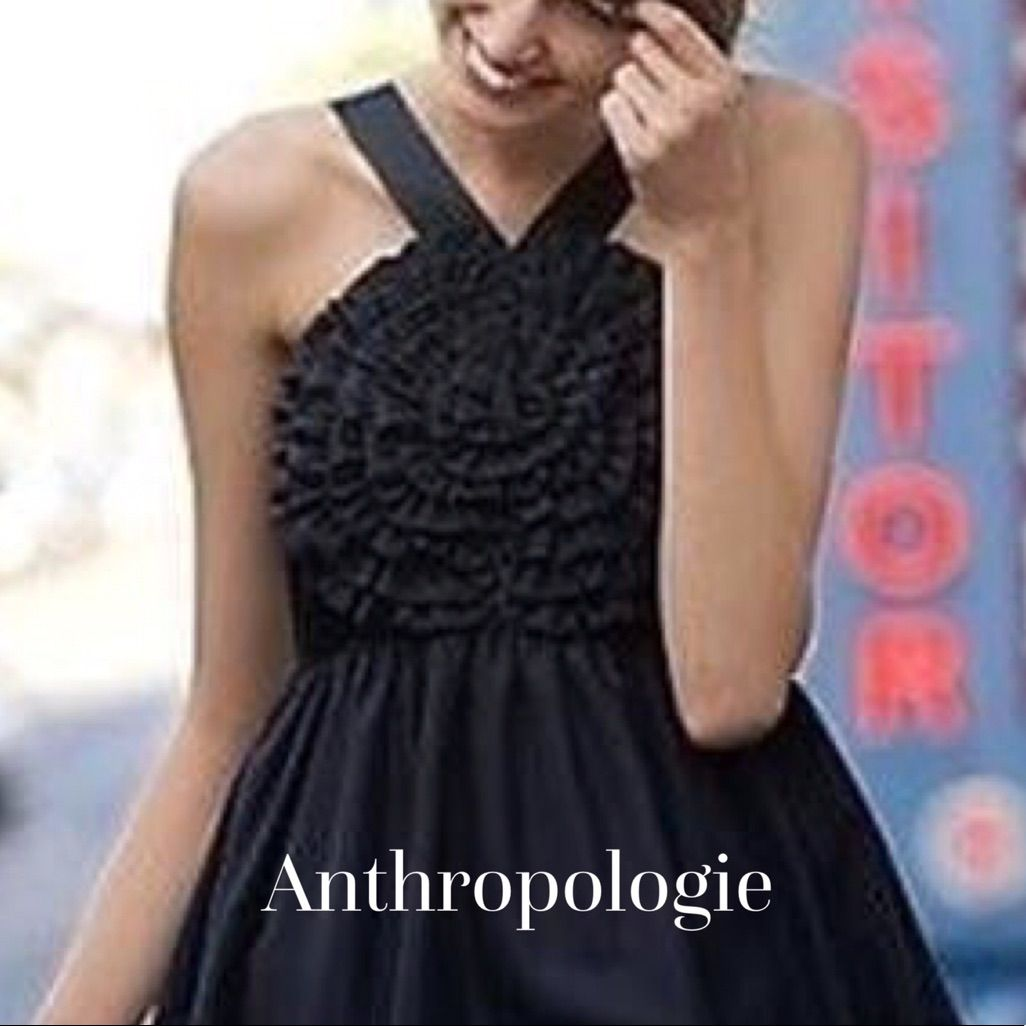 Anthropologie little black dress anthropologie and products
