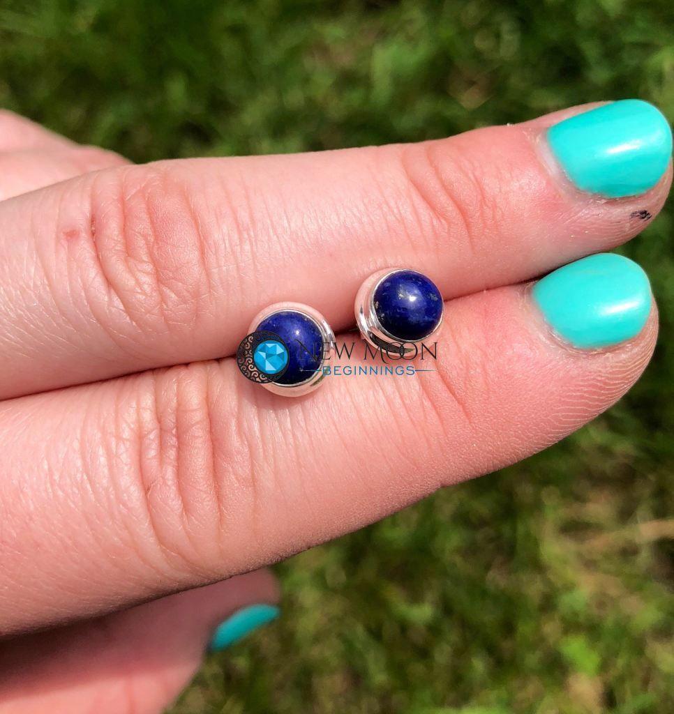 7a92f26202d8ca Lapis Lazuli Earrings (Sterling Silver) | Gemstone Sets | Lapis ...