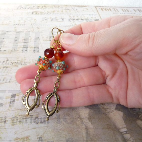 https://www.etsy.com/fr/listing/500163826/lampwork-earrings-vintage-earrings-art