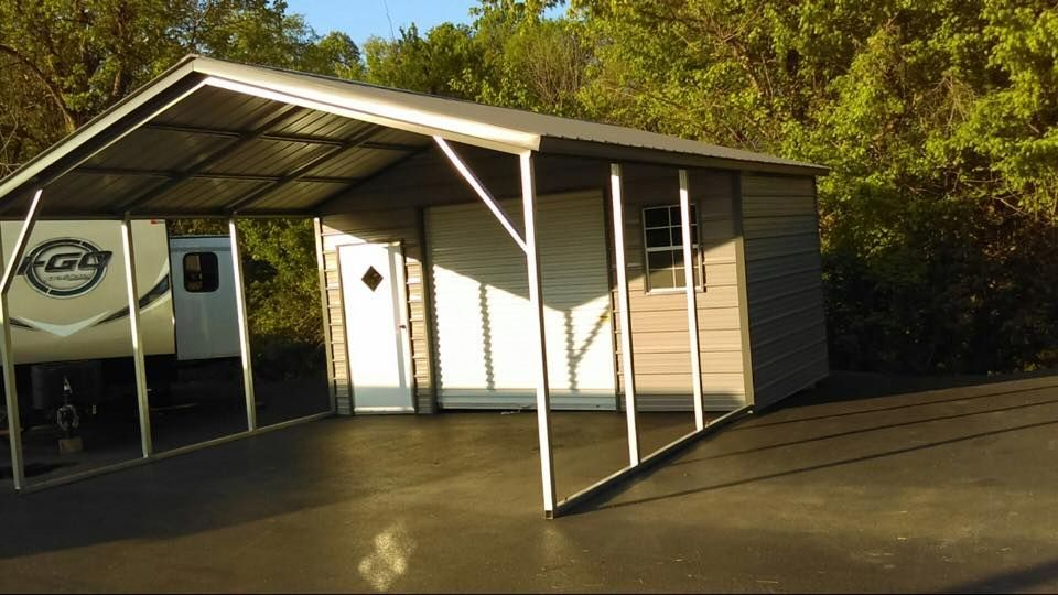 Pin By A Plus Carports On Metal Carports And Structures Metal Carports Metal Buildings For Sale Steel Carports