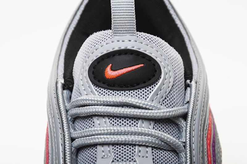 138dac841e47 Nike Air Max 97 Red Womens Pink Grey 97s Shoes 921733-009 - www ...