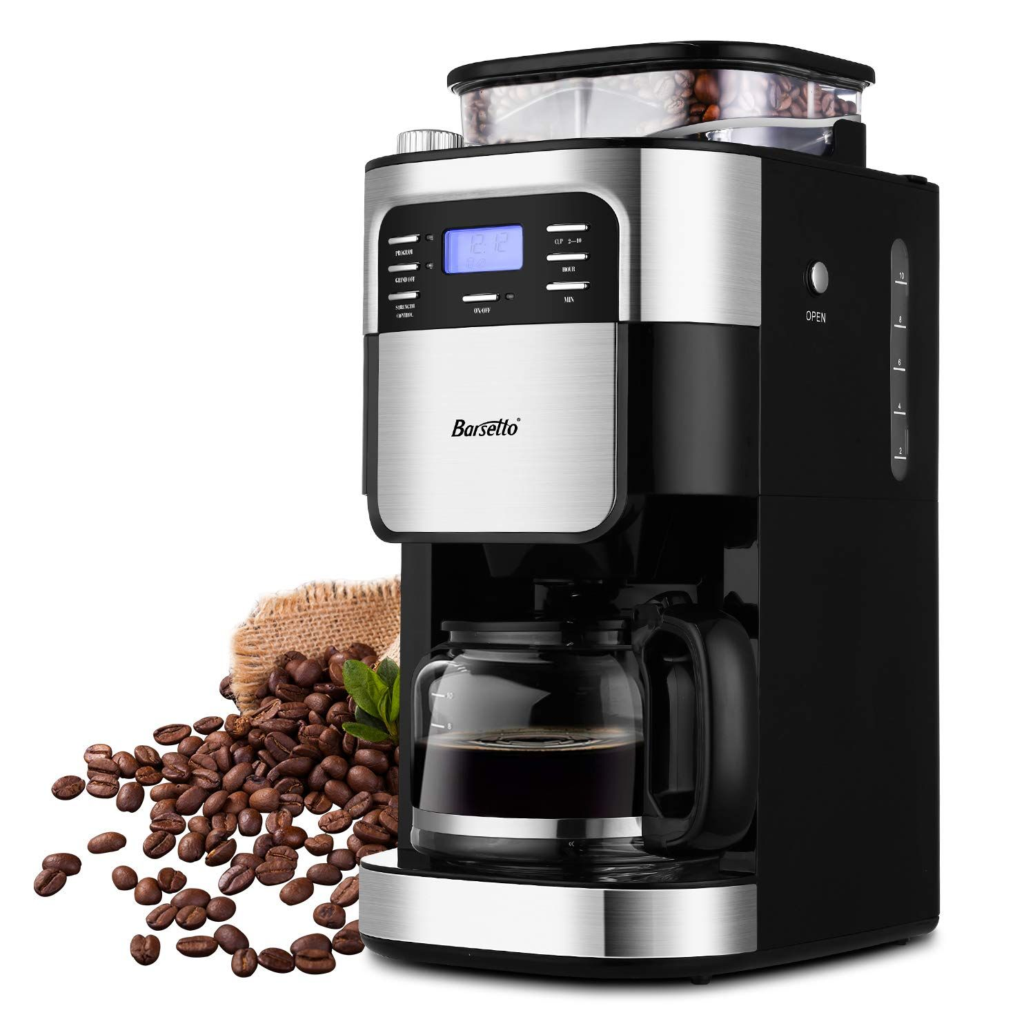 10Cup Programmable Coffee Maker with Timer mode and Auto
