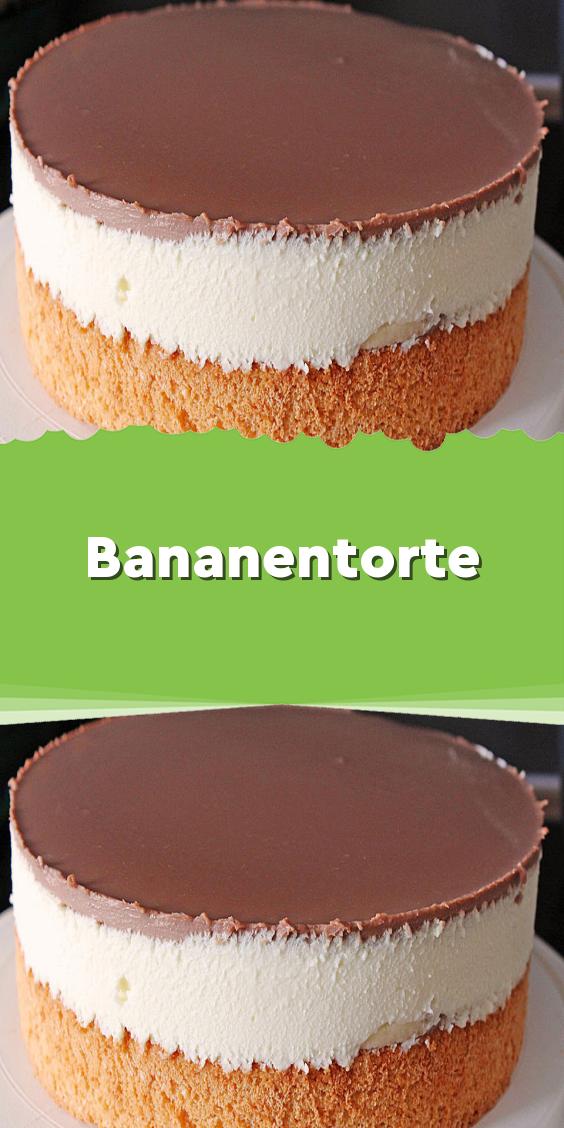 Bananentorte #cuisineetboissons