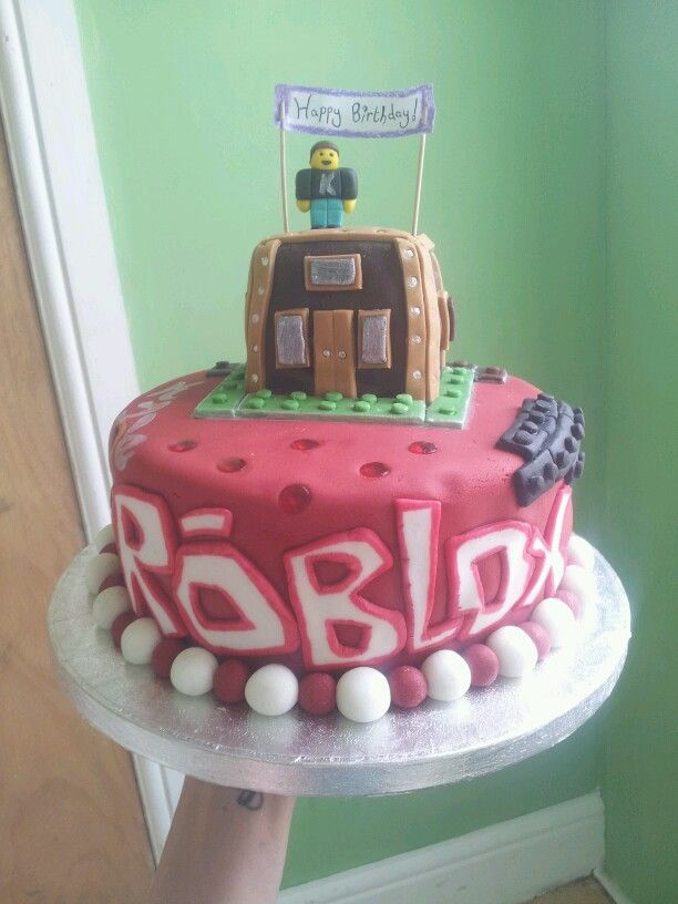 Roblox Cake Made By Me For Kyles Bday Roblox Cake Birthday