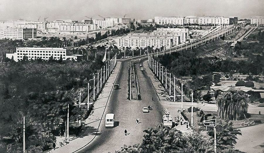 Zaporozhye, Lenin ave. 1960th