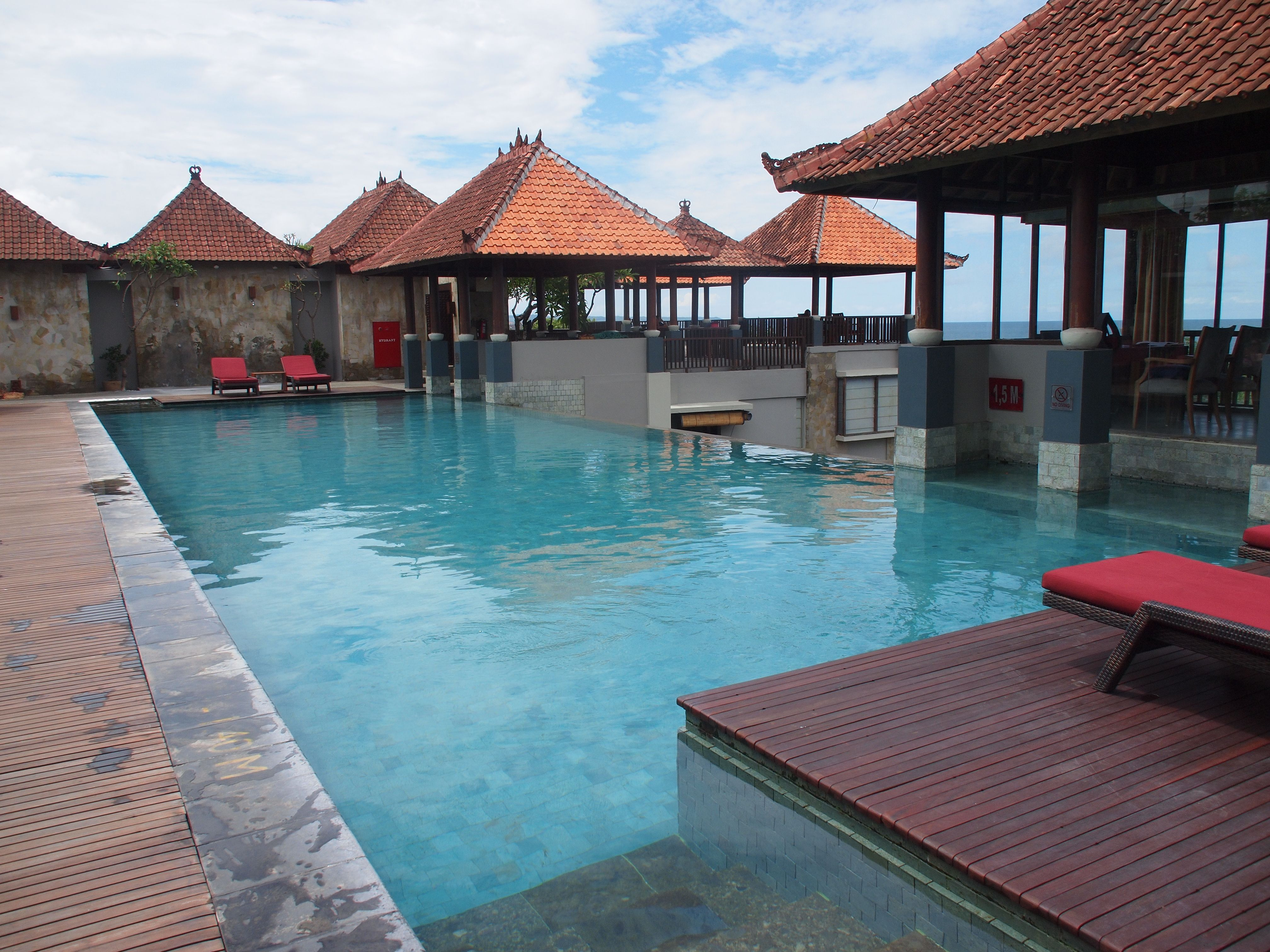 The top floor of the Mecure Hotel Kuta Bali hai, Hotel