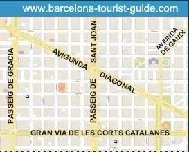 Mapa De Barcelona Calles.Mapa De Las Calles De Barcelona Viaje Mapas Barcelona