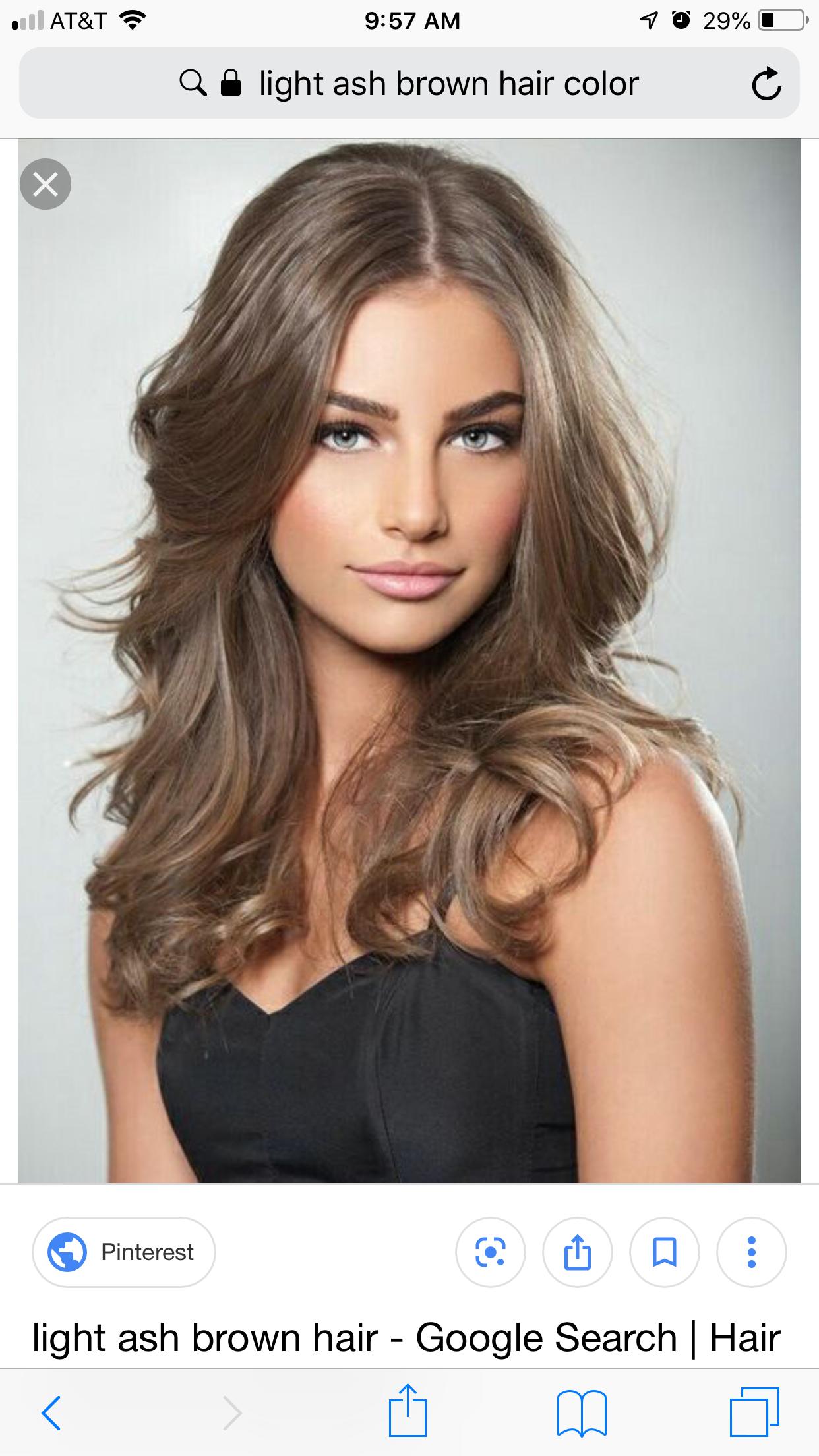 Pin by Rosanna Tenuta on hair color | Light ash brown hair ...