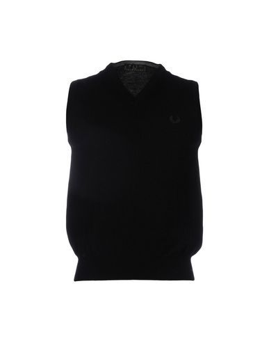 FRED PERRY Men's Sweater Black 38 inches