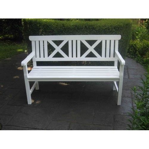 Hampton Garden Bench White Hampton Garden Garden Seating White