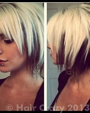 Love The Cut Stranded Hair Hair Styles Short Hair Styles