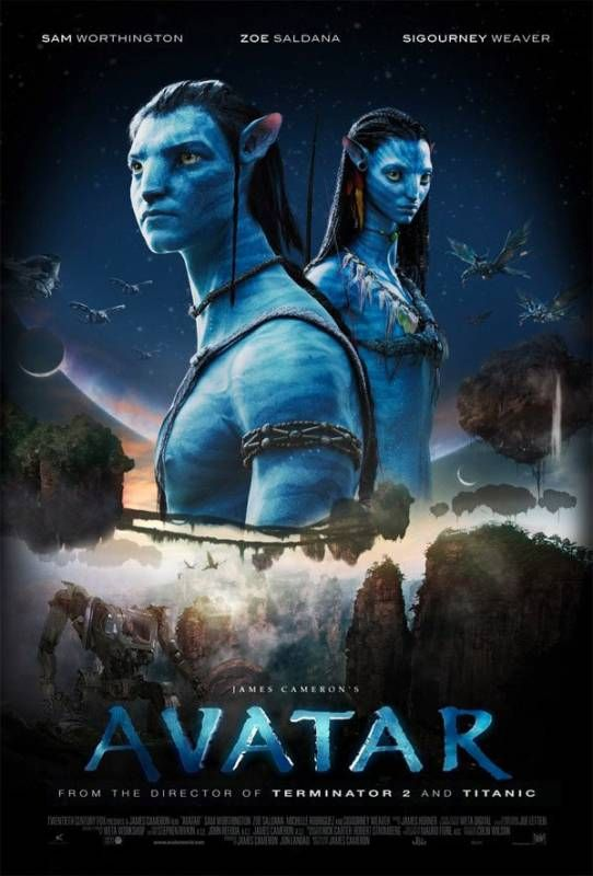 Avatar Poster Pelicula Avatar 2 Avatar Pelicula Avatar