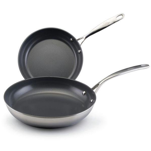 Beste Bratpfanne edelstahl beschichtete pfannen beste bratpfannen küche