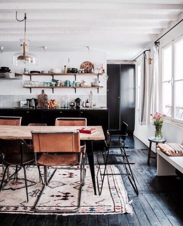 kitchen esszimmer pinterest esszimmer k che und einrichtung. Black Bedroom Furniture Sets. Home Design Ideas