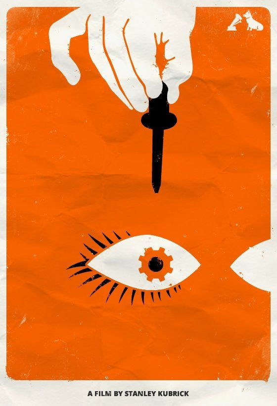 filmposter a clockwork orange | Z Movies | A clockwork ... A Clockwork Orange Minimalist Poster