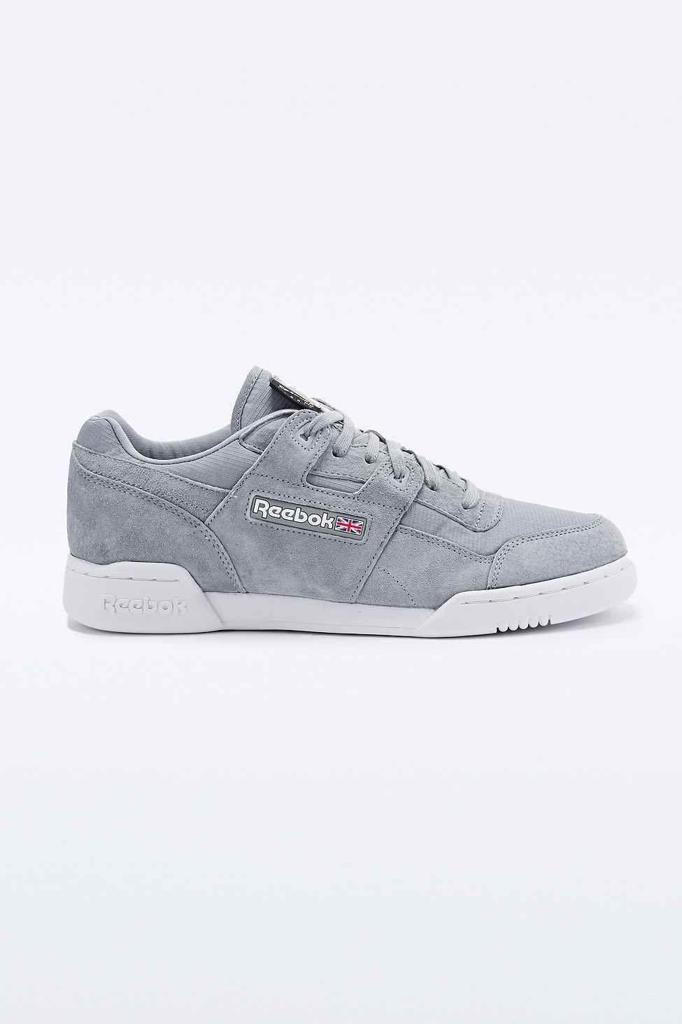 """7e1a1e437a4 Reebok – Sneaker """"Workout Plus"""" aus Cordura in Grau"""