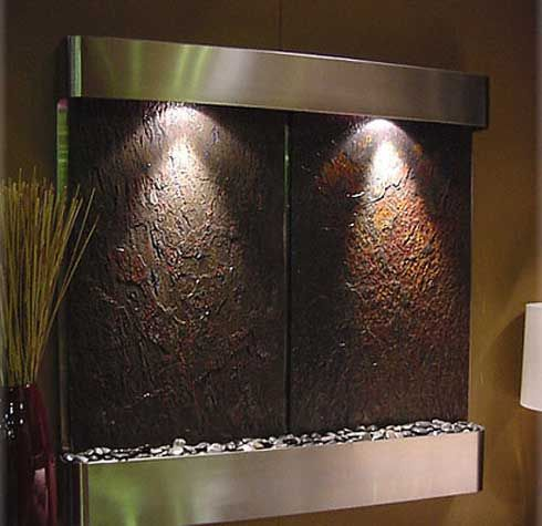 Indoor Waterfalls And Fountains Indoor Waterfall Wall Indoor