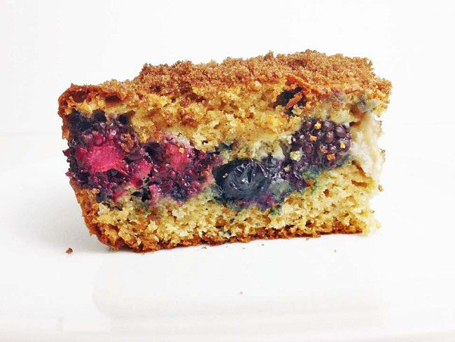 Berry Cream Cheese Coffee Cake - I Eat Therefore I CookI Eat Therefore I Cook
