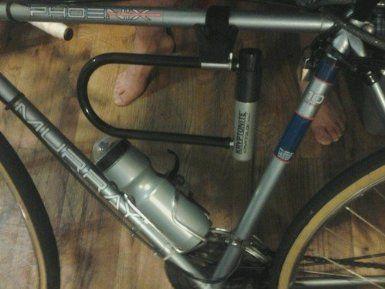 Kryptonite Kryptolok Series 2 Standard Bicycle U Lock With Transit