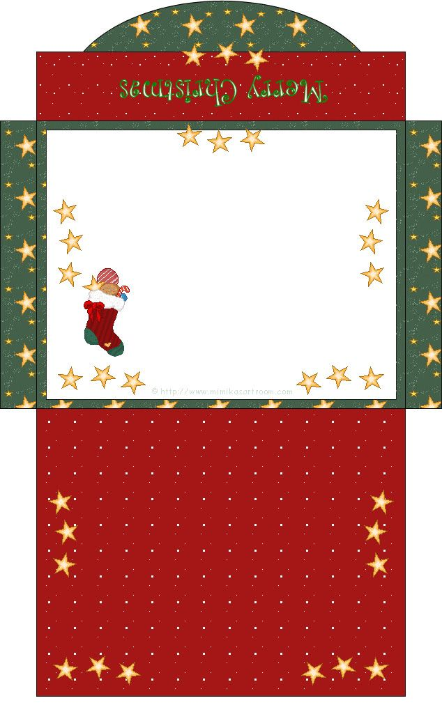 graphic regarding Printable Christmas Envelopes titled mini box ~ dollhouse printable Stationery paper