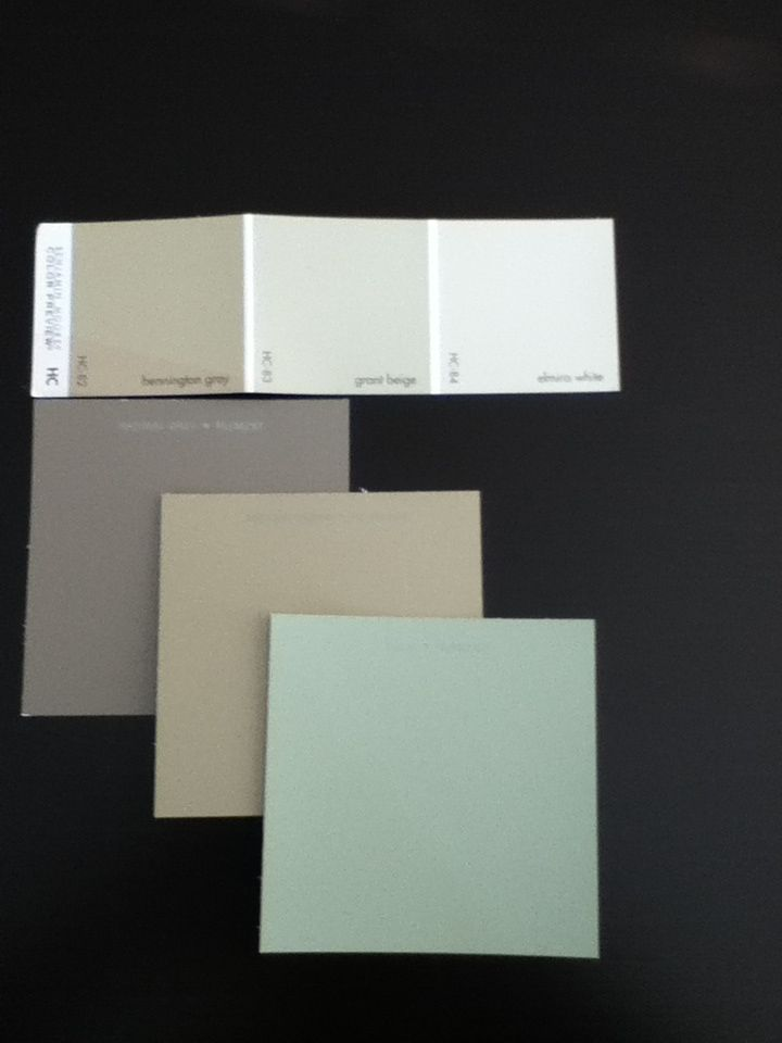 Neutral interior paint colors starting at the top left for Best grey beige paint color