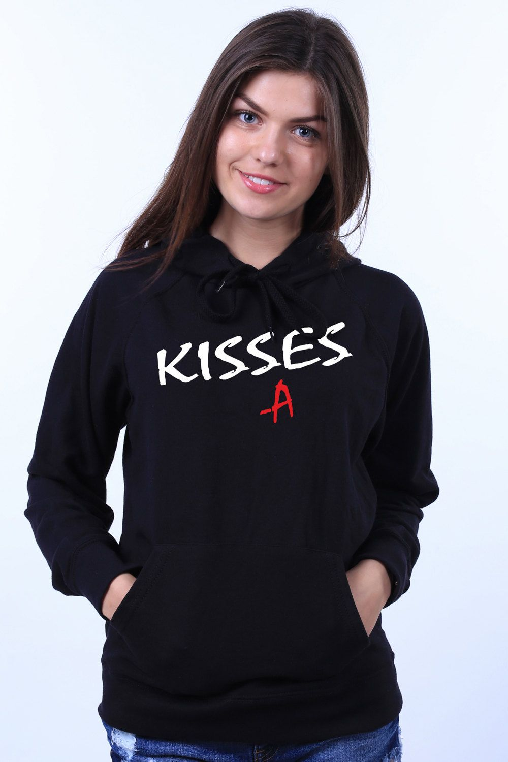 Pretty Little Liars Kisses A PLL Fan Clothing Light Weight Sweatshirt Hoodie …