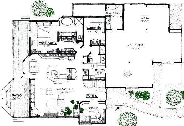 Space Efficient House Plans Energy Efficient House Design Energy Efficient House Plans Building Plans House
