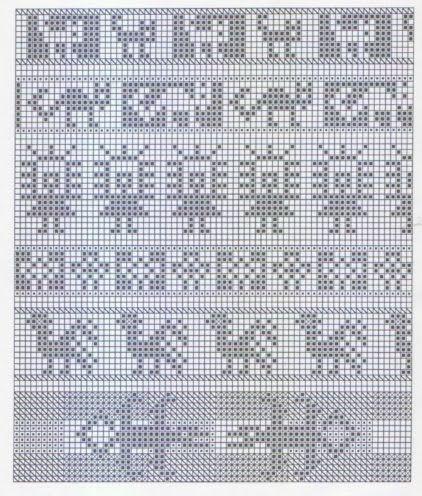 Andean Knitting charts + The Andean Tunics (Met.Museum) - Monika Romanoff - Picasa-verkkoalbumit