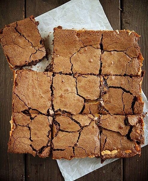 Peanut Butter Brownie Caramelita's!