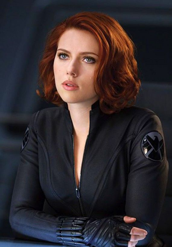 Scarlett Johansson  as Natasha Romanoff/The Black Widow in The Avengers
