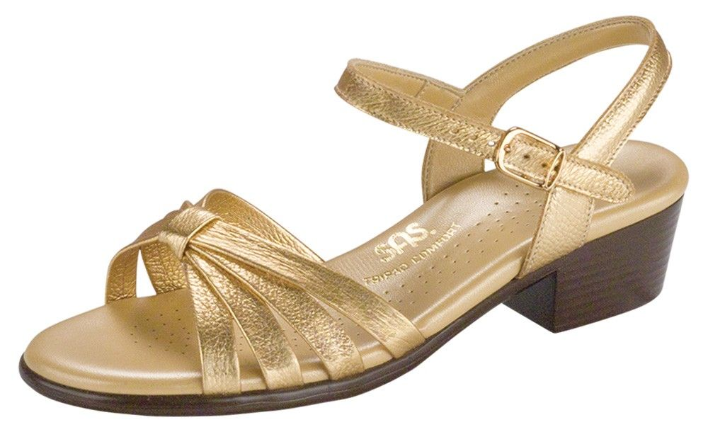 fab061d17886 Women s Gold Metallic Dress Sandal