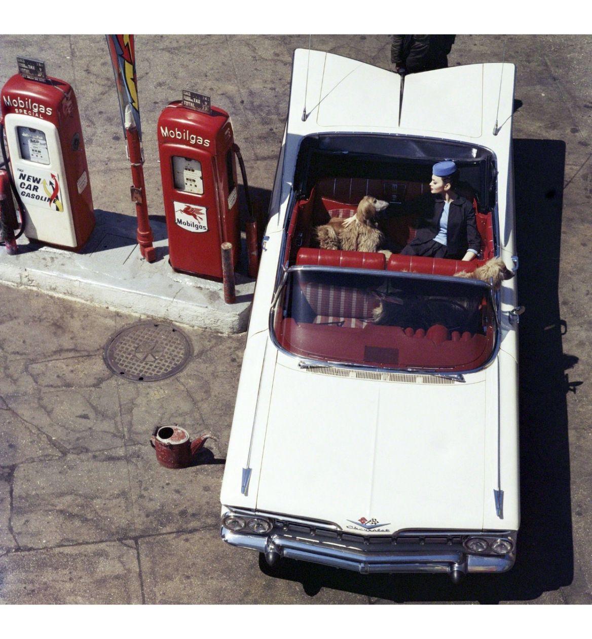 Isabella Albonico Chevrolet Impala Gas Pumps 6th Avenue New