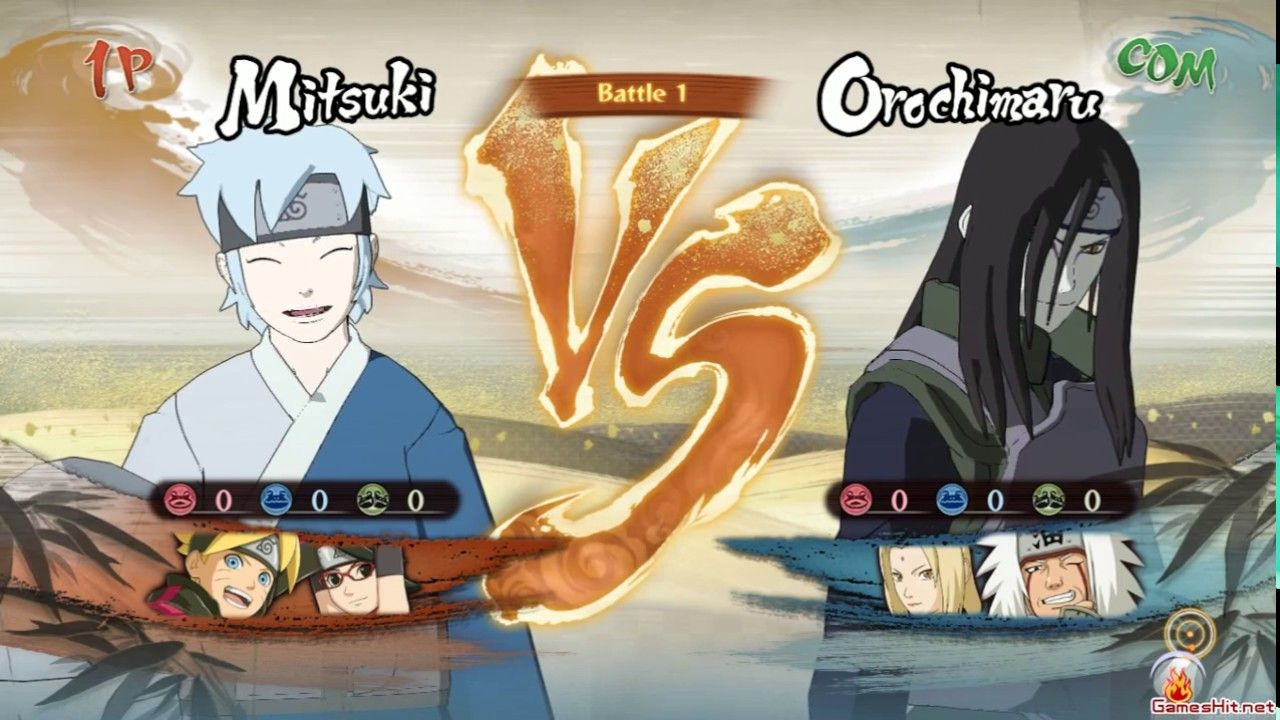 006 Flag Battle 4v4 เล่นนินจา Art: Naruto to Boruto Shinobi