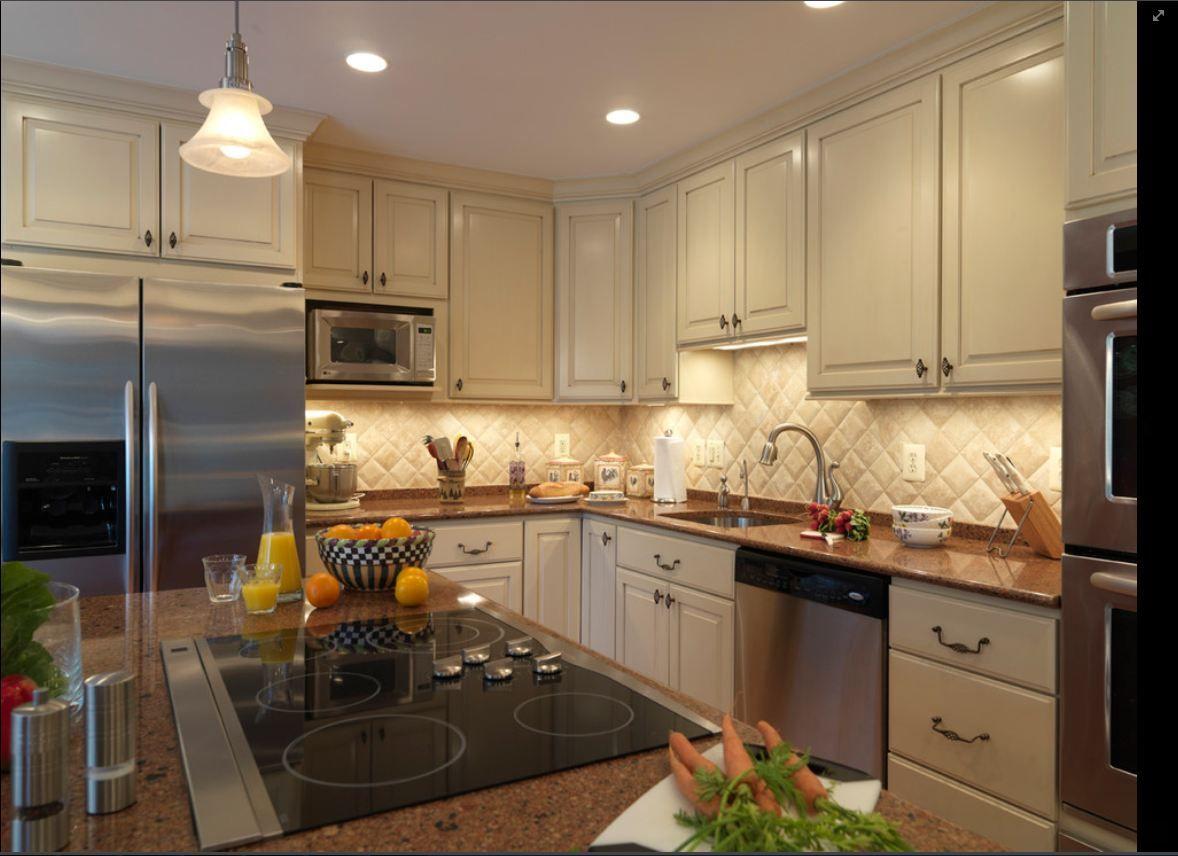 Colors Cream Cabinets Beveled Tile Kitchen Design Kitchen Backsplash Designs Wooden Kitchen Cabinets