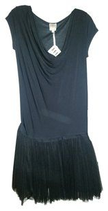65fb7d5485abb4 Haute Hippie short dress Black and Grey Drop Waist Tulle on Tradesy ...