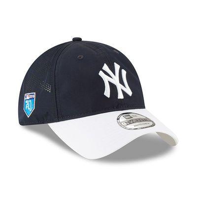 9f409d7fb9 Men s New Era Navy New York Yankees 2018 Spring Training Collection  Prolight 9TWENTY Adjustable Hat
