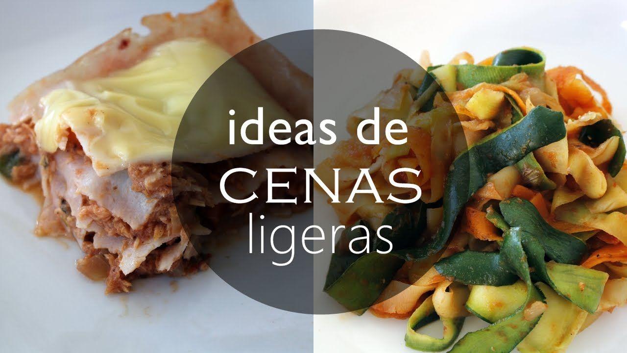 Ideas De Cenas Sanas Y F Ciles Bajas En Carbohidratos Comidas  ~ Recetas Faciles Y Bajas En Calorias