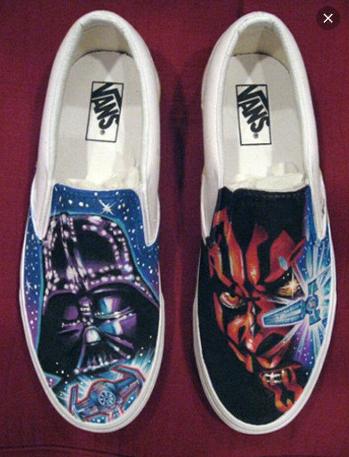 387b2faf9d8bd Star Wars Vans | DIY Ideas in 2019 | Star wars shoes, Boys vans ...
