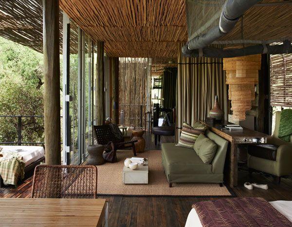 Singita Sweni South African Safari Lodge Style Via West Elm