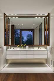Gap Between Bathroom Floating Vanity And Wall Google Search Luxury House Designs Bathroom Design Big Bathrooms