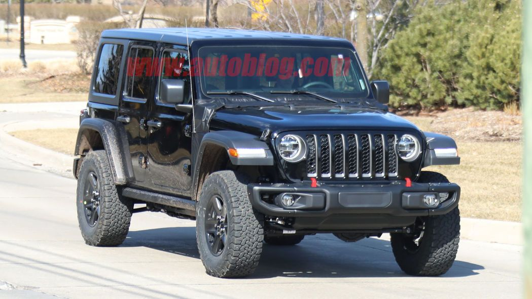 2021 Jeep Wrangler Plug In Hybrid Caught Undisguised Jeep