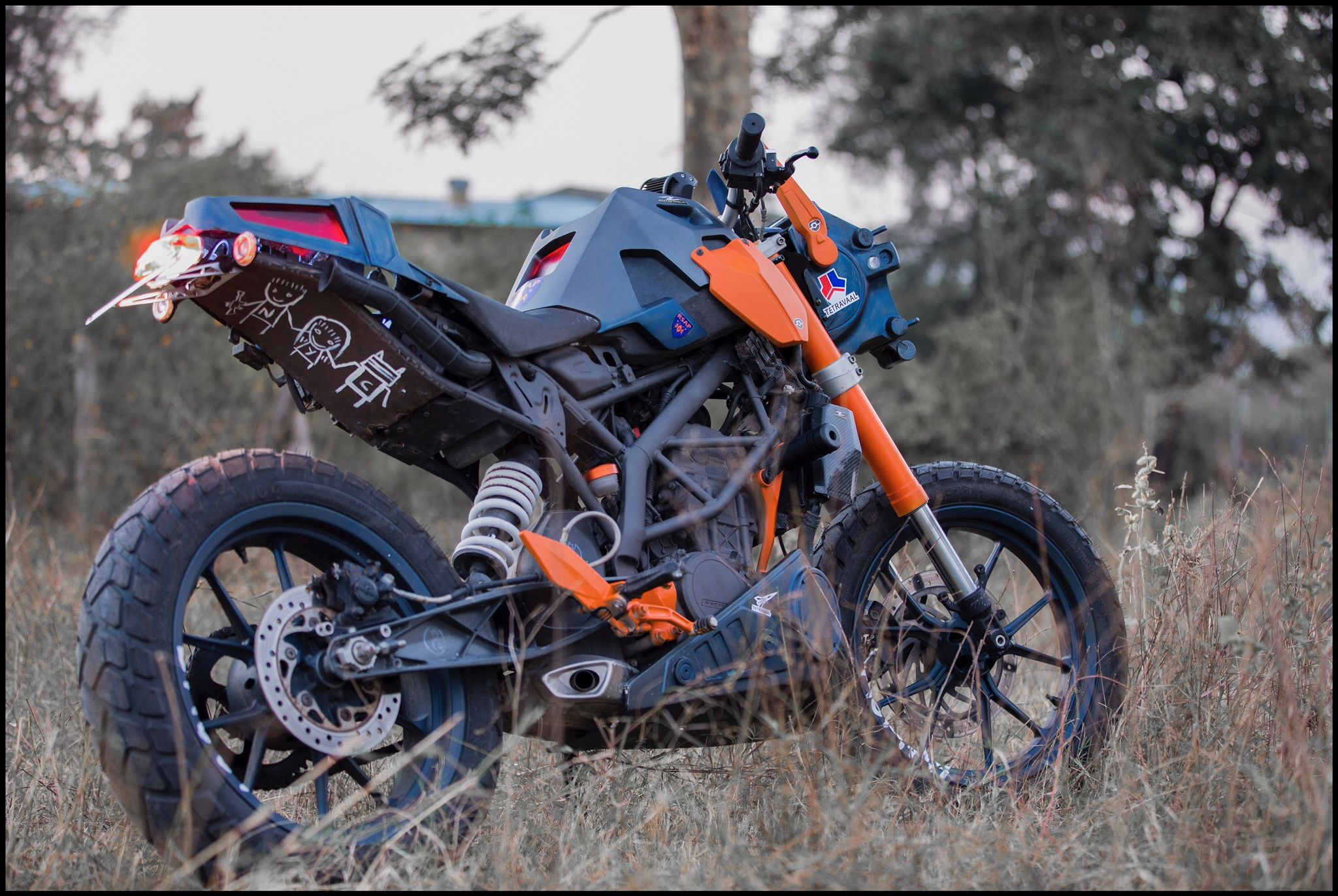Ktm Duke 200 Custom Chappie Derestricted Ktm Duke Ktm Duke