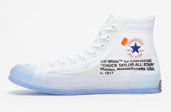 43da8b8c2698 Release Reminder  OFF-WHITE x Converse Chuck 70 The OFF-WHITE x Converse