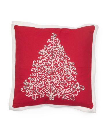 20x20 Christmas Tree Pillow