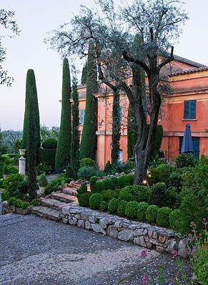 Garden and house!