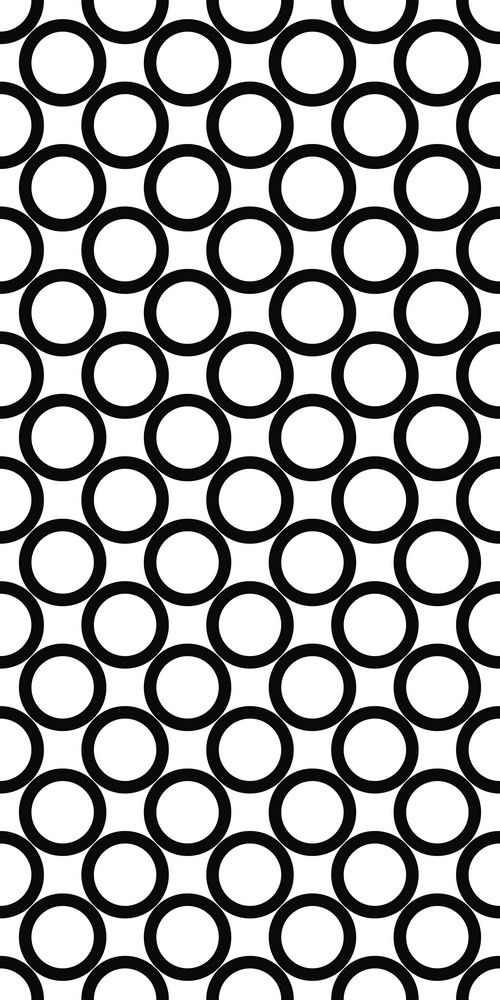 Seamless Monochrome Ring Pattern Stock Vector (Royalty Free) 329048231